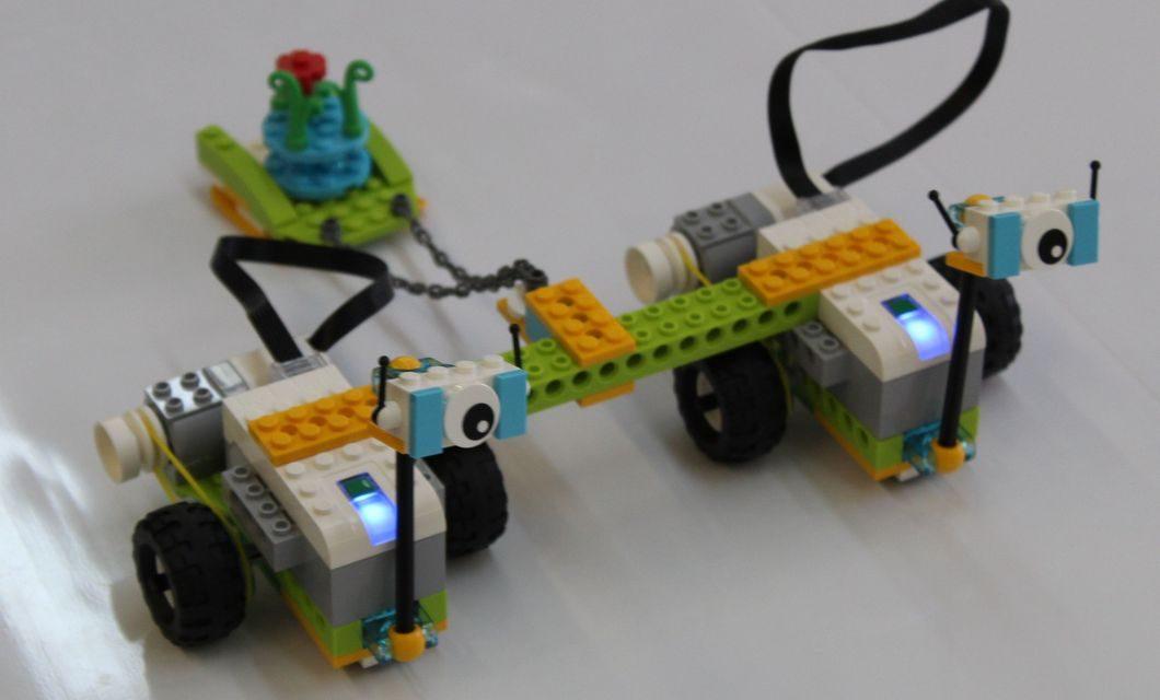 Соревнование по LEGO WeDo 2.0 и Boost